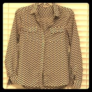 American Eagle Outfitters Tops - Chevron blouse